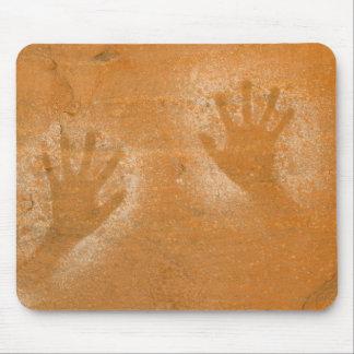 USA, Utah, Pictograph Hand-prints on sandstone, Mouse Mat