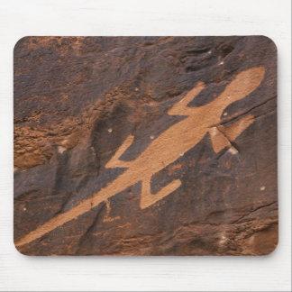 USA, Utah. Prehistoric petroglyph rock art at Mouse Pad