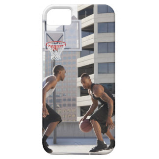 USA, Utah, Salt Lake City, two young men playing iPhone 5 Case