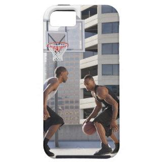 USA, Utah, Salt Lake City, two young men playing iPhone 5 Case