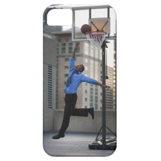 USA, Utah, Salt Lake City, Young businessman Barely There iPhone 5 Case