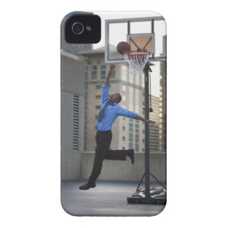 USA, Utah, Salt Lake City, Young businessman Case-Mate iPhone 4 Cases
