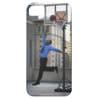 USA, Utah, Salt Lake City, Young businessman iPhone 5 Cover