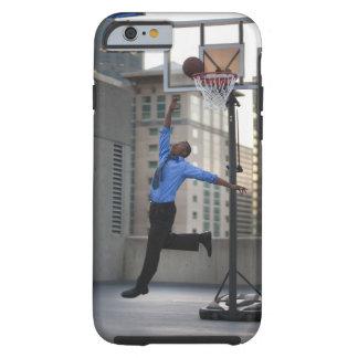 USA, Utah, Salt Lake City, Young businessman Tough iPhone 6 Case