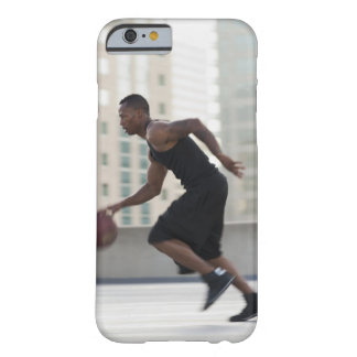 USA, Utah, Salt Lake City, Young man playing Barely There iPhone 6 Case