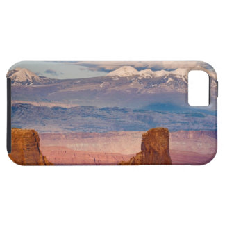 USA, Utah. Scenic of La Sal Mountains from Dead Tough iPhone 5 Case