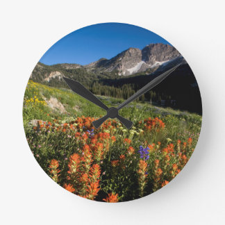 USA, Utah, Uinta-Wasatch-Cache National Forest Wallclocks