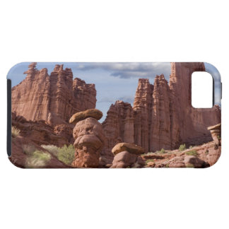 USA, Utah. View of Fisher Towers. Credit as: Don iPhone 5 Cases