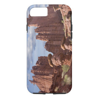 USA, Utah. View of Fisher Towers. Credit as: Don iPhone 8/7 Case
