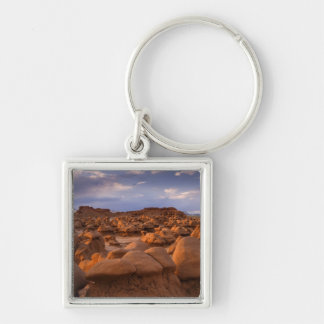 USA; Utah. View of Goblin Valley State Park at Key Ring
