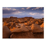 USA; Utah. View of Goblin Valley State Park at Post Card
