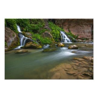 USA, Utah, Zion National Park. The Virgin Photographic Print