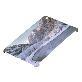 USA, Utah, Zion NP. New snow covers the canyon iPad Mini Case