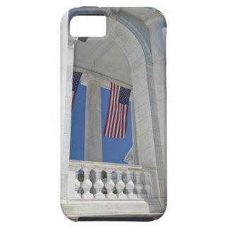 USA, VA, Arlington. American Flags are hung iPhone 5 Covers