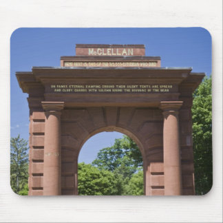 USA, VA, Arlington. McClellan Gate at Arlington Mouse Mat