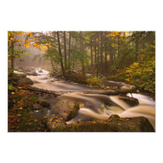 USA, Vermont, East Arlington, Flowing streams 2 Art Photo