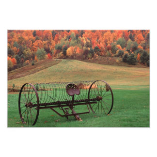 USA, Vermont, Farm. Photo Print