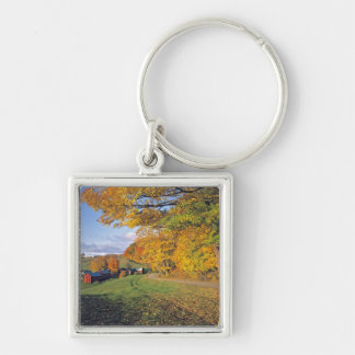 USA, Vermont, Jenne Farm. Fall comes to Jenne Key Ring