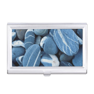 USA, Vermont, Lake Champlain, Stones Business Card Holder