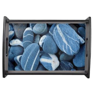 USA, Vermont, Lake Champlain, Stones Serving Tray