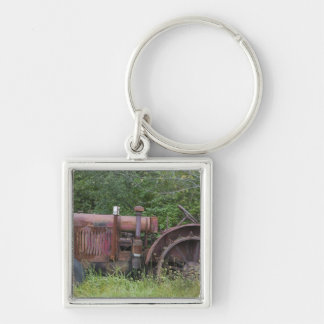 USA, Vermont, MANCHESTER: Antique Farm Tractor Key Ring