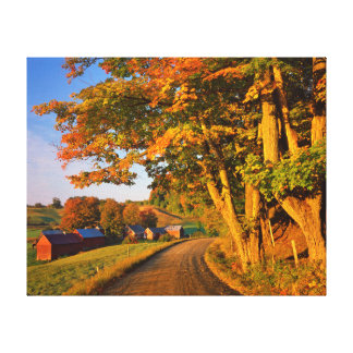 USA, Vermont, South Woodstock Canvas Prints