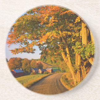 USA, Vermont, South Woodstock Drink Coasters