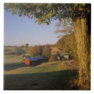 USA, Vermont, south Woodstock, Jenne Farm at Large Square Tile