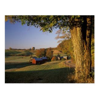 USA, Vermont, south Woodstock, Jenne Farm at Postcard