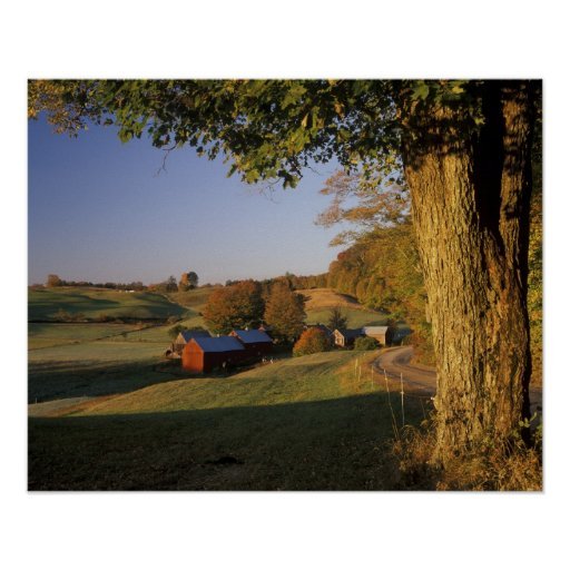 USA, Vermont, south Woodstock, Jenne Farm at Print