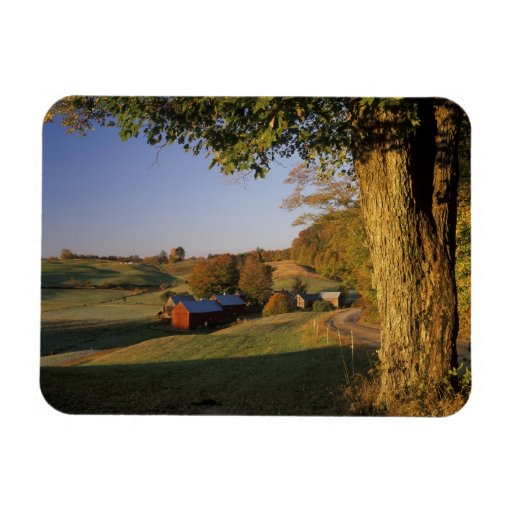 USA, Vermont, south Woodstock, Jenne Farm at Rectangle Magnets
