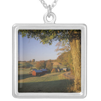 USA, Vermont, south Woodstock, Jenne Farm at Square Pendant Necklace