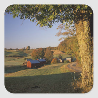 USA, Vermont, south Woodstock, Jenne Farm at Square Sticker