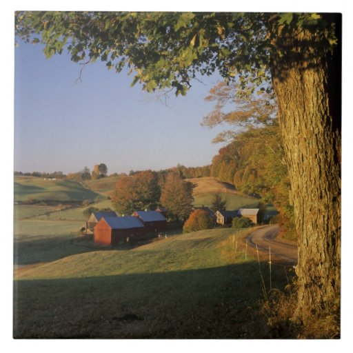 USA, Vermont, south Woodstock, Jenne Farm at Ceramic Tile