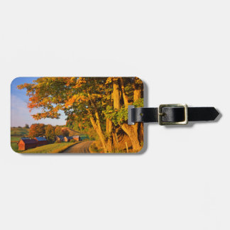 USA, Vermont, South Woodstock Luggage Tag