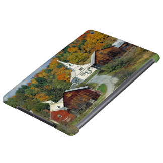USA, Vermont, Waits River. Fall foliage adds Case For iPad Air
