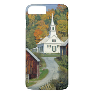 USA, Vermont, Waits River. Fall foliage adds iPhone 8 Plus/7 Plus Case