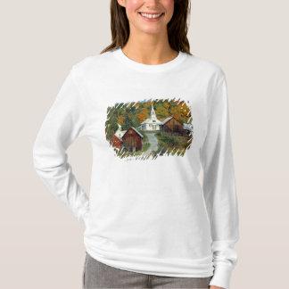 USA, Vermont, Waits River. Fall foliage adds T-Shirt