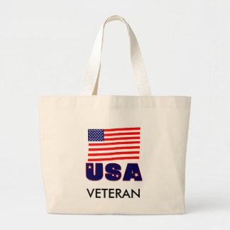 USA Veteran Apparel & Merchandise Tote Bag