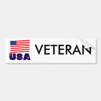 USA Veteran Apparel & Merchandise Bumper Sticker