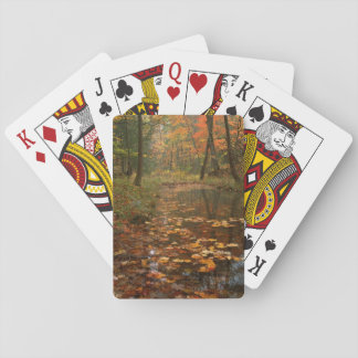 USA, Virginia, Autumn In Douthat State Park Playing Cards