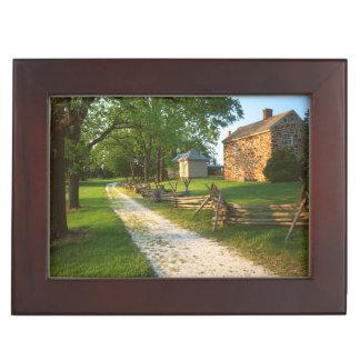USA, Virginia, Fairfax County, Sully Plantation Keepsake Box