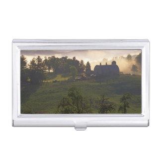 USA, Virginia, Giles County, Farm Business Card Holder