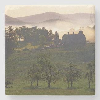USA, Virginia, Giles County, Farm Stone Coaster