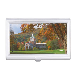 USA, Virginia, Hot Springs, The Homestead Business Card Holder