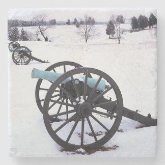 USA, Virginia, Manassas National Battlefield Stone Coaster