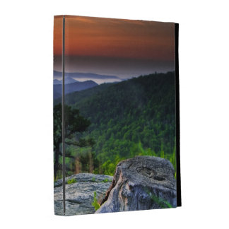 USA, Virginia, Shenandoah National Park. iPad Folio Cover