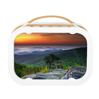 USA, Virginia, Shenandoah National Park. Lunch Box