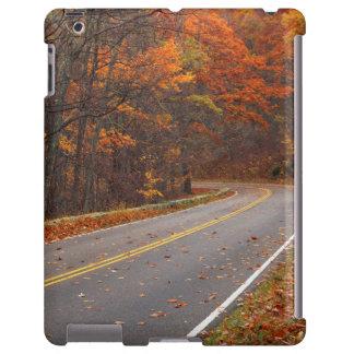 USA, Virginia, Shenandoah National Park, Skyline iPad Case