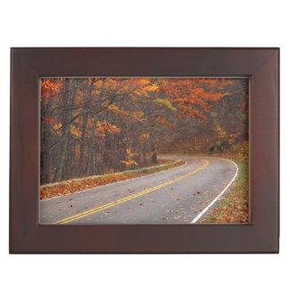 USA, Virginia, Shenandoah National Park, Skyline Keepsake Box